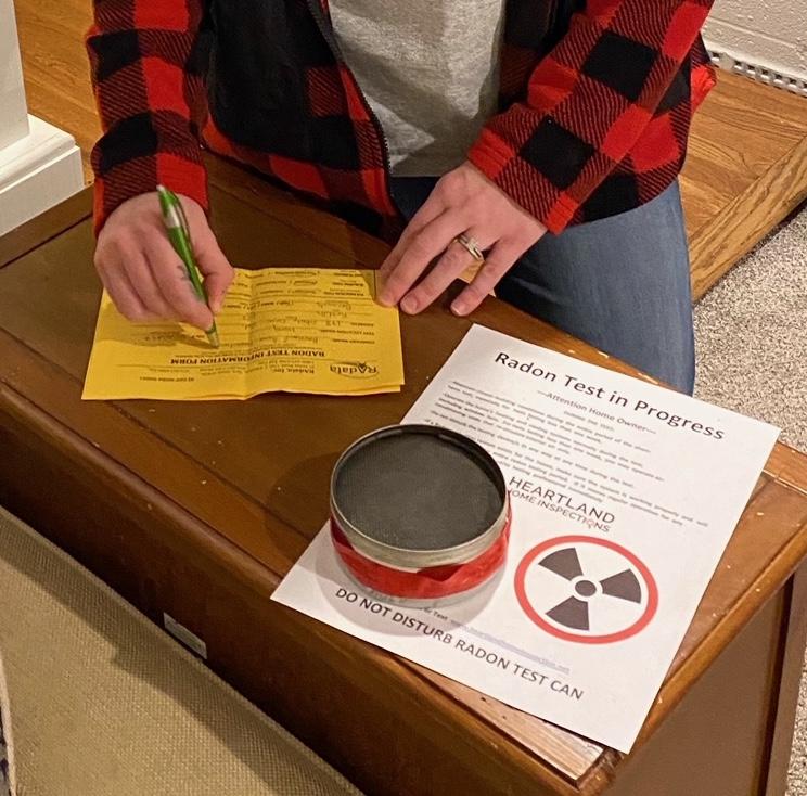 Radon Gas Testing 2