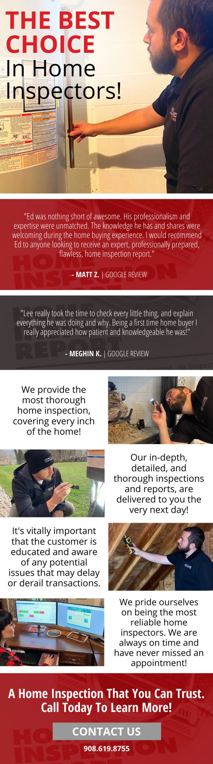 The Most Reliable Home Inspectors! 🏠 3