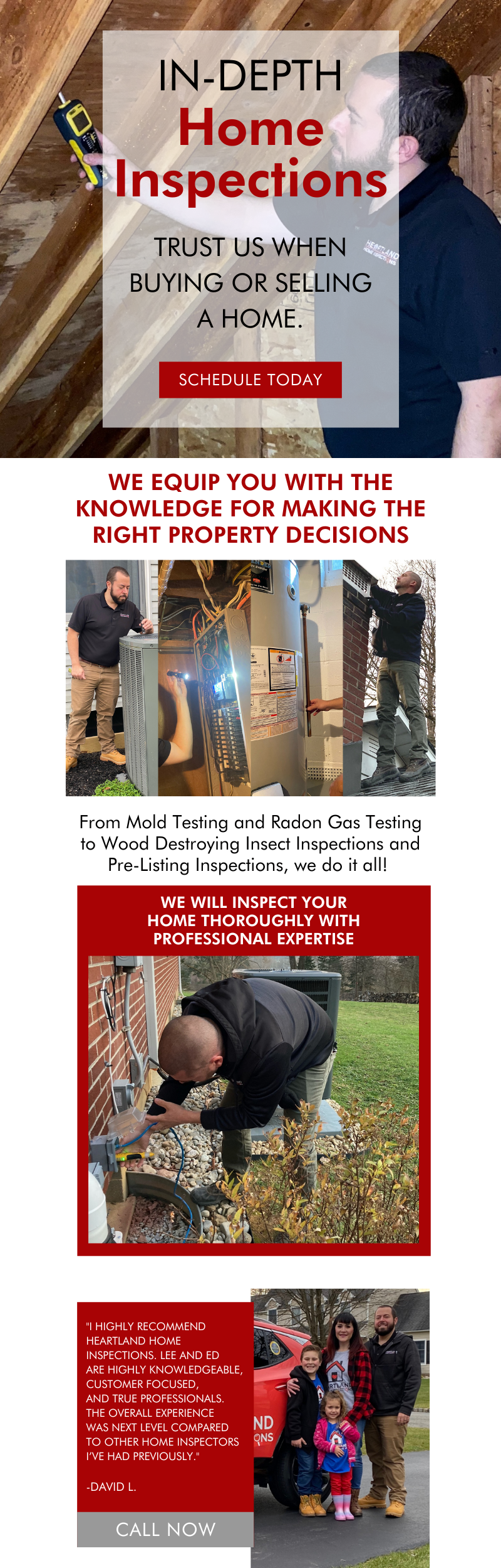 In-Depth Home Inspections! 3